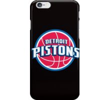 NBA - Pistons iPhone Case/Skin
