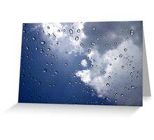 Sun Shower Greeting Card