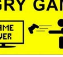 Angry Gamer Sticker