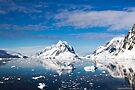 Reflecting on Antarctica 003 by Karl David Hill