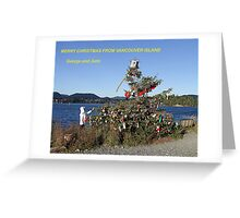 Merry Christmas From Vancouver Island Greeting Card