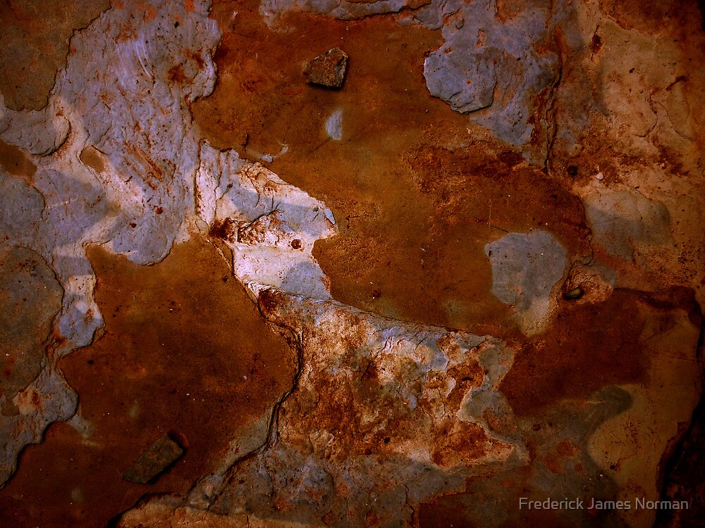 Rock Abstract # 3 by Frederick James Norman