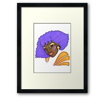 Shana - The Holograms Framed Print