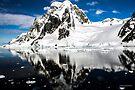 Reflecting on Antarctica 005 by Karl David Hill