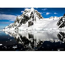 Reflecting on Antarctica 005 Photographic Print