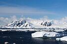 Reflecting on Antarctica 006 by Karl David Hill