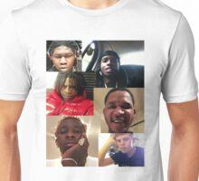 ASAP ROCKY, YOUNG THUG, YUNG LEAN, FREDO SANTANA, YOUNG CHOP, CHIEF KEEF Unisex T-Shirt