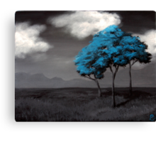 Singled Out: Blue Canvas Print