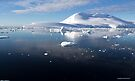 Reflecting on Antarctica 008 by Karl David Hill