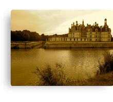 Chambord in Sepia Canvas Print