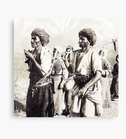 Ottoman Kurdish Canvas Print