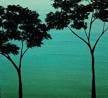 Tiny Tree Duo by Erin Scott
