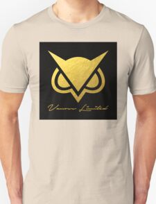 New Vanoss Limited Edition Gold Foil Logo Replica  |  The FIRST and BEST Vanoss design on Redbubble! T-Shirt