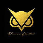 New Vanoss Limited Edition Gold Foil Logo Replica  |  The FIRST and BEST Vanoss design on Redbubble! by Leptons