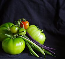 Tomatoes and Beans by Clare Colins