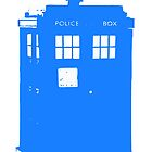 Stamped Tardis by Caffrin25