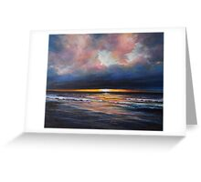Inch sunset Greeting Card