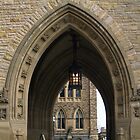 Ottawa Parliament Buildings Archway by vette