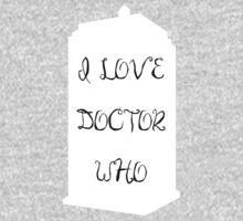 I love Doctor Who One Piece - Long Sleeve