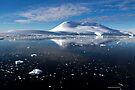 Reflecting on Antarctica 011 by Karl David Hill