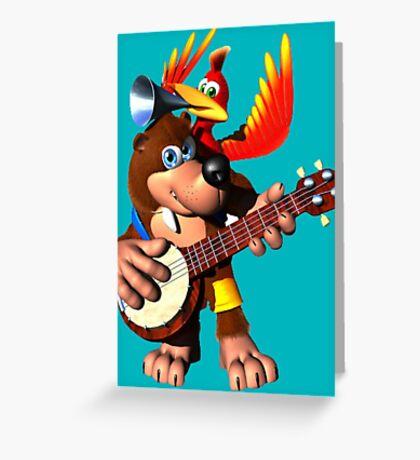 Banjo-Kazooie Greeting Card