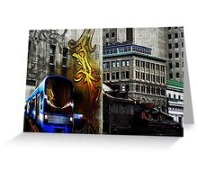Montreal, the Old Port ! Greeting Card