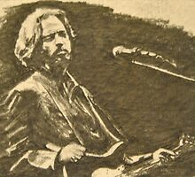 Eric Clapton by Sean Huffman