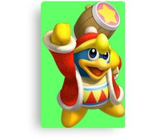 King Dedede Canvas Print