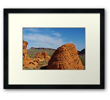 Valley of Fire, Nevada Framed Print
