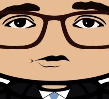 Chris Hayes Politico'bot Toy Robot 1.0 Sticker