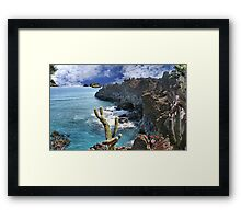 2339-At the Right Time Framed Print