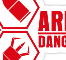 Armed and Dangerous - Prints, Stickers, iPhone & iPad Cases Sticker