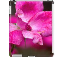 Pink Flower iPad Case/Skin