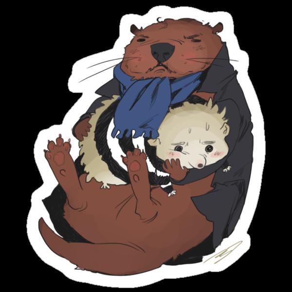 Sherlotter and Johnhog ??? by reapersun