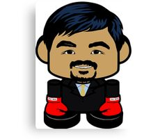 Pacquiao'bot Toy Robot 1.0 Canvas Print