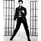 Elvis Presley Jailhouse Rock iPad Case by ipadjohn