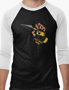 Get Over Here!!! Men's Baseball ¾ T-Shirt