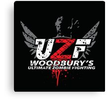 Woodbury Ultimate Zombie Fighter Canvas Print