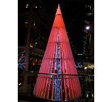 Christmas neon Photographic Print