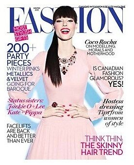 Primodels Review-Coco Rocha Covers Fashion Winter 2013 by primodels