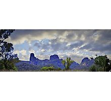 Crooked Mountains Photographic Print