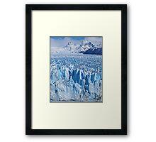Glaciar Perito Moreno, Argentina Framed Print