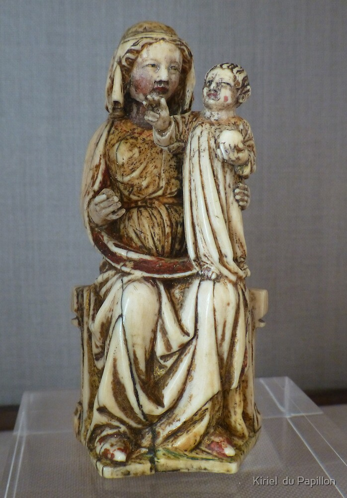 Madonna and Child, Naples by Kiriel