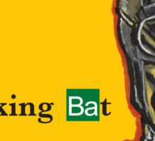 Breaking Bat Sticker