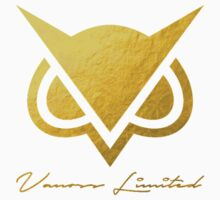 Vanoss Limited Edition Gold Foil Logo Replica - No Background  |  The FIRST and BEST Vanoss design on Redbubble! Kids Clothes