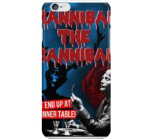 Hannibal the Cannibal - B-Movie Poster iPhone Case/Skin