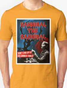Hannibal the Cannibal - B-Movie Poster T-Shirt