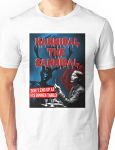 Hannibal the Cannibal - B-Movie Poster Unisex T-Shirt