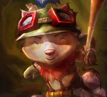 Captain Teemo LoL League of Legends by gleviosa