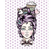 Teacake Lady Photographic Print